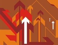 Arrow background series Stock Photo