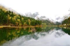 Arrow bamboo lake, Jiuzhaigou, China Stock Photos