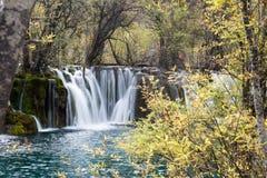 Arrow Bamboo Waterfalls Stock Photography