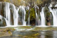 Arrow Bamboo Waterfalls Royalty Free Stock Image