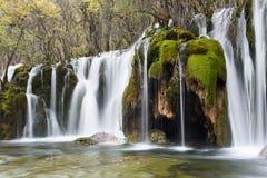 Arrow Bamboo Waterfalls Royalty Free Stock Photo