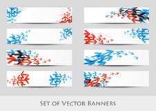 Arrow banners Royalty Free Stock Photos