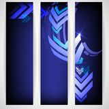 Arrow Blue Background With Place For Your Text. Royalty Free Stock Images