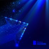 Arrow blue background. Vector illustration, contains transparencies, gradients and effects stock illustration