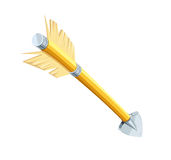 Arrow for bow shooting vector illustration. Eps10 Royalty Free Stock Images