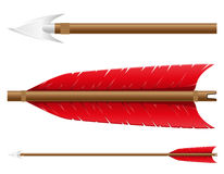 Arrow for bow vector illustration Stock Images