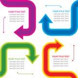 Arrow business info-graphics design  Stock Photo