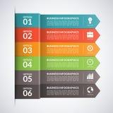 Arrow business infographics template. Vector Stock Photos