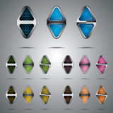 Arrow buttons Stock Photo