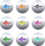Arrow buttons Royalty Free Stock Photo
