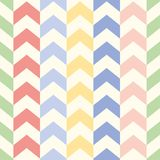 Arrow chevron seamless vector background pattern in summer colors royalty free illustration