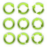 Arrow circles Stock Images