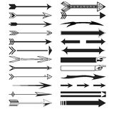 Arrow collection & additional format availabla Royalty Free Stock Photos