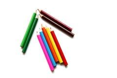 Arrow color pencil Royalty Free Stock Photos