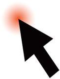 Arrow cursor Royalty Free Stock Photography