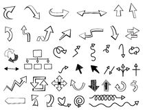 Arrow cursor Stock Images