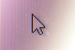 Arrow cursor Royalty Free Stock Photo