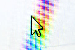 Arrow cursor Royalty Free Stock Images