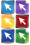 Arrow Cursors Royalty Free Stock Image