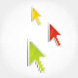 Arrow Cursors Royalty Free Stock Images