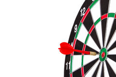 Arrow and Dart Board Royalty Free Stock Photo