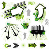arrow design element Royalty Free Stock Images