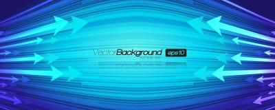 Arrow Design Vector Background Stock Image