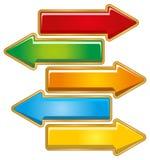 Arrow direction Stock Image