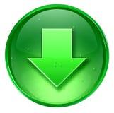 Arrow down icon Royalty Free Stock Image