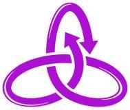 Arrow emblem Royalty Free Stock Photos