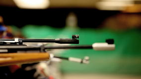 Arrow in the firing line Royalty Free Stock Photography