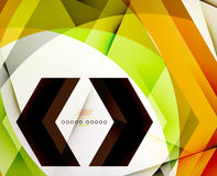 Arrow Geometric Shape Abstract Business Background Royalty Free Stock Photography