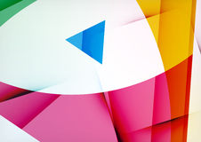 Arrow Geometric Shape Abstract Business Background. Graphic Design Template Stock Photos