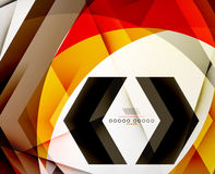 Arrow Geometric Shape Abstract Business Background Royalty Free Stock Images