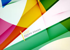 Arrow Geometric Shape Abstract Business Background. Graphic Design Template Royalty Free Stock Photo