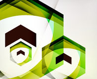 Arrow Geometric Shape Abstract Business Background Royalty Free Stock Image