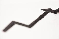 Arrow up Stock Photo