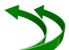 Arrow green Stock Photos