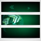 Arrow Green Background With Place For Your Text. Vector Illustration. Eps 10 royalty free illustration