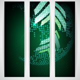 Arrow Green Background With Place For Your Text. Vector Illustration. Eps 10 stock illustration
