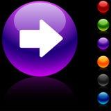 Arrow  icon. Royalty Free Stock Image