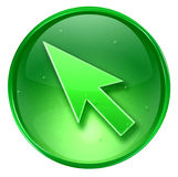 Arrow icon. Stock Image