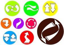 arrow icon 02 Stock Image