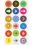 Arrow icon Stock Photography