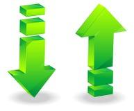 Arrow icon - Illustration Royalty Free Stock Photos
