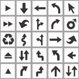 Arrow icon set. Universal vector icon set. Royalty Free Stock Photo