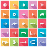 Arrow Icon Set Royalty Free Stock Photos