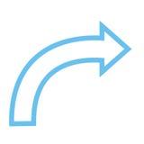Arrow icon Stock Photo