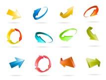 Arrow Icon Vector Stock Image