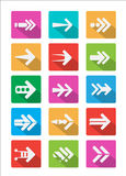 Arrow icon Vector Stock Photos